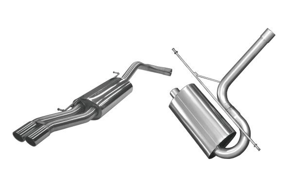 BN Pipes Sportauspuff für Audi A4 - Typ B5