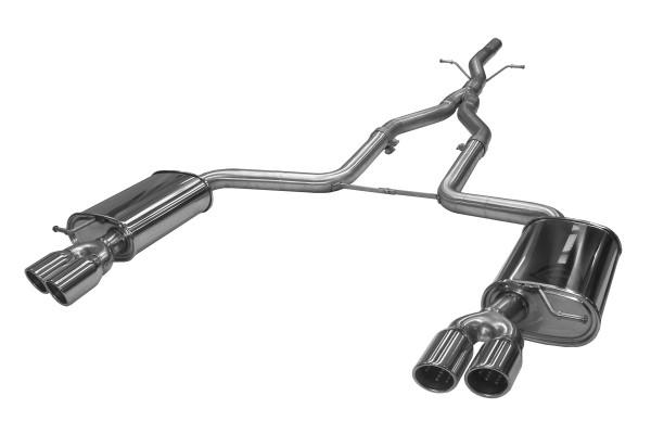 BN Pipes Sportauspuff für Audi A6 - Typ 4F