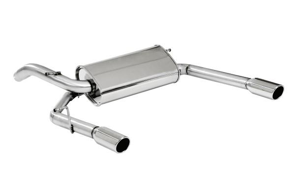 BN Pipes Endschalldämpfer für Audi A2 - Typ 8Z