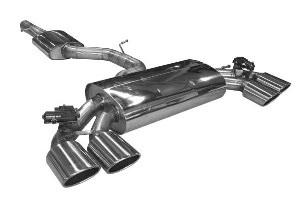 BN Pipes Sportauspuff für VW Golf 7 R - Typ AU