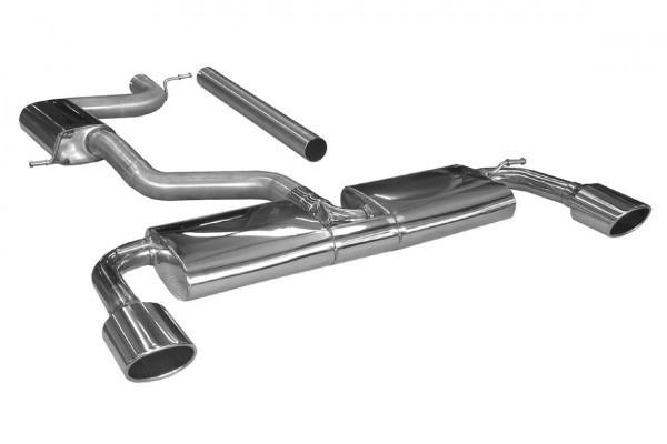 BN Pipes Sportauspuff für Seat Leon Cupra 280 - Typ 5F